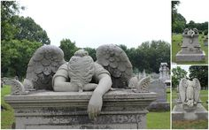weeping angel on headstone for Methodist minister (late 1800's) - Friendship Cemetery, Columbus MS neat place, friendship cemeteri, travel memori, south style, weeping angels