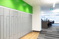 Office Lockers, Employee Lockers, School Lockers, Office Storage, Locker Storage, Mobile Storage, How To Store Shoes, Open Office, Maximize Space