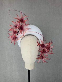 MBM2288 – Millinery By Mel All Design, News Design, Headbands, Fascinators, Creative, Hats, How To Wear, Head Bands, Hat