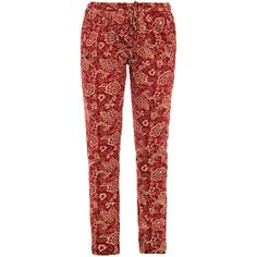 Isabel Marant Étoile Sid cotton trousers ($214) ❤ liked on Polyvore