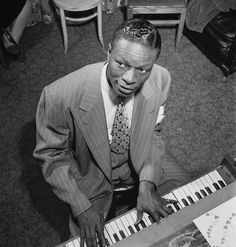 Nat King Cole, 1947, NYC