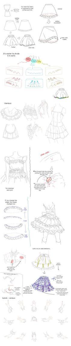 Frills tutorial - translated version. by elenareceptionist