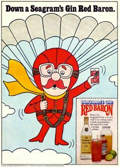 70's Party / Seagram's, 1975.