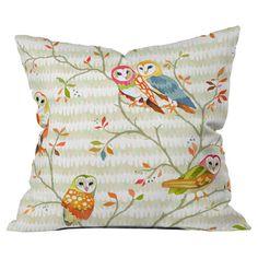 Owl Tree Pillow.