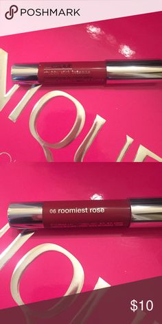 Clinique chubby stick lip balm Moisturizing lip balm rommiest rose Clinique Makeup Lip Balm & Gloss