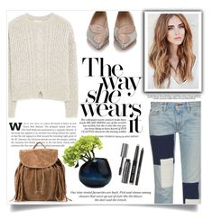"""""""Autumn Casual"""" by viola-vu ❤ liked on Polyvore featuring Simon Miller, H&M, MANGO, NLY Accessories, Sophia Webster, Dot & Bo and Bobbi Brown Cosmetics"""