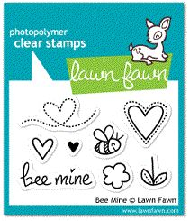 *Lawn Fawn BEE MINE Clear Stamps