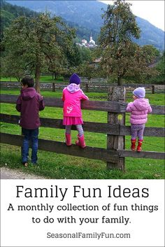 Family Fun Ideas Link Party - March 2016