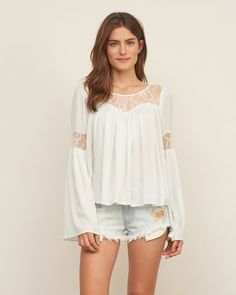 Lace Panel Easy Top