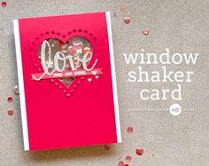 Window Shaker Card Video by Jennifer McGuire Ink