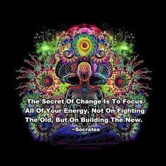 The secret of change.....