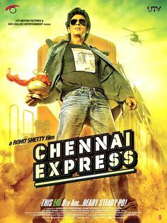 Shah Rukh Khan in'Chennai Express' poster 3 #Bollywood