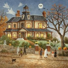 Wooden Puzzles For Adults - You Go First! - 256 Piece Wooden Jigsaw Puzzle For Adults Halloween Puzzles, Christmas Jigsaw Puzzles, Wooden Jigsaw Puzzles, 3d Puzzles, 300 Piece Puzzles, Puzzle Pieces, Spooky House, Knock On The Door, Cute Black Cats