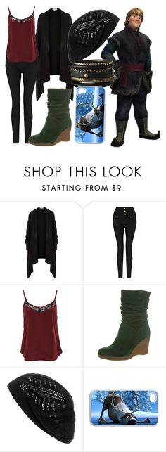 """Kristoff"" by dutchveertje ❤ liked on Polyvore featuring Dorothy Perkins, Somerset by Alice Temperley, Miss Selfridge, KMB, Wet Seal, Disney, disney, disneybound, frozen and disneycharacter"