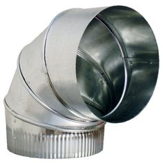 Sheet Metal Duct Elbow Hvac Installation Easy Install 90 Degrees Buildings