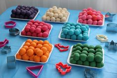 Recipe Play Dough, Cookie Dough- only three more days to go! by Elegant Cakes and Party Dates - Petit Chef