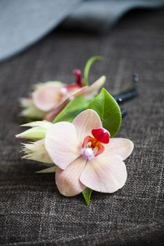 AislePlanner.com loves: Orchid Boutonniere