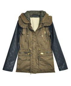 Rugged it mixed with leather!