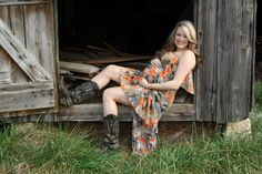 Beautiful rustic maternity photo.  | Photo by Kim Kaye posted on Clickin Mom's in comment section.