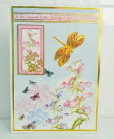 hunkydory with a peel off dragon fly