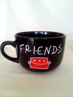 Friends the Show Mug by ohMUGgoodness on Etsy