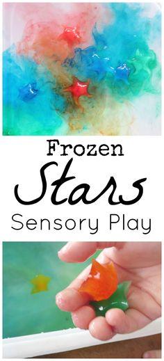 Frozen Stars Sensory Play FB