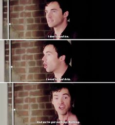 "#PLL 5x25 ""Welcome to the Dollhouse"" - Ezra"