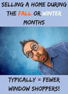 Selling A Home During The Fall or Winter Months