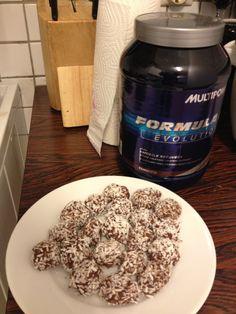 Proteinsjokolade kuler oppskrift :) (KarolineStyve)