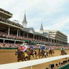 Go watch the Kentucky Derby - complete with crazy hat & mint julep!