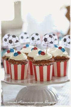 Synttärit jalkapallo teemaan