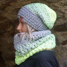 Ručně háčkovaná čepice DOKE Taylor | Bonami Crochet Scarves, Knit Crochet, Crochet Hats, Crochet For Boys, Ear Warmers, Caps Hats, Crochet Projects, Headbands, Knitted Hats