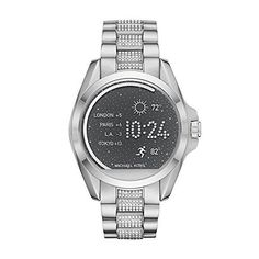 Women's Smartwatches - Michael Kors MKT5000 Digital Bradshaw SilverTone Access Touch Screen Smartwatch *** Click image for more details. (This is an Amazon affiliate link)