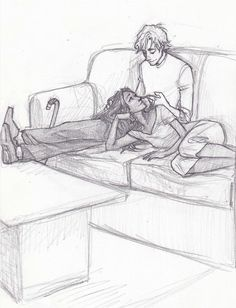 a degree of difficulty by burdge-bug on deviantART. Peeta and Katniss find some peace