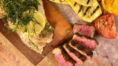 Pepper Steak with Broccoli Stem Salad Recipe | The Chew - ABC.com