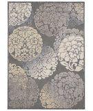RugStudio presents Nourison Verdant Vdt06 Grey Machine Woven, Good Quality Area Rug