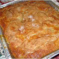 Well, just freaking YUMMY!!! OLD FASHIONED PEACH COBBLER