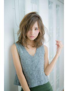 ルアーチェ 川口(LUACE)30代40代ママさんオススメ☆大人かわいいミディアムスタイル