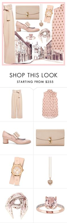 """""""Pastel.Pink"""" by boldag ❤ liked on Polyvore featuring A.L.C., Valentino, Lanvin, Dolce&Gabbana, Michele and Thomas Sabo"""