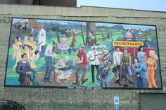 Mural in downtown Maryville, TN.  I see something new in this every time!