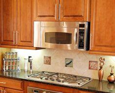Decorative Tiles For Kitchen Simple Kitchen Glass Tile Backsplash Pictures For Kitchen  Kitchen 2018