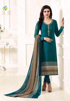 #Vinay #Silkina Royal Crepe 8 Salwar Kameez Vol8 4927 #Green