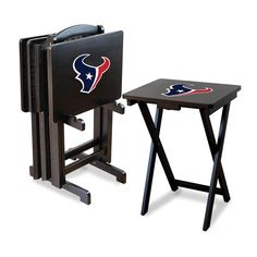 Houston Texans Folding TV Tray Tables