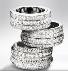 Piaget diamond rings from the Possession jewellery collection
