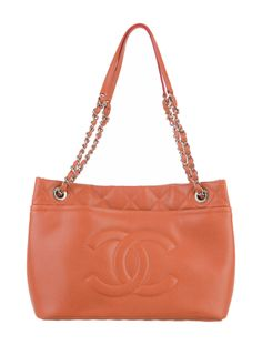 Chanel Timeless CC Tote Brown | #TheRealReal