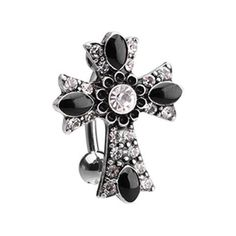 Covet Jewelry 316L Surgical Steel Saddle Plug with Black Ring Grooved Inlay