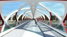 Calatrava bridge Calgary