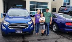 Matthew and Katherine, congratulations on your new 2018 FORD ECOSPORT!  Thank you again for the opportunity to earn your business, Landmark Ford and David Mcmeen.