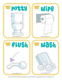 Potty Time sequence cards