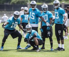 from Carolina Panthers The #Panthers wide receivers already have great chemistry